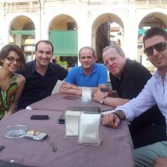 Masterclass Brescia 2012, con Lucio Matarazzo, Antonello Dieni, Marco Tamburrini, Enrica Savigni