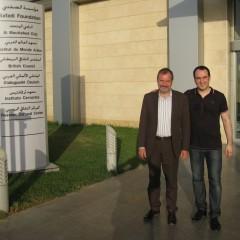Con Andrea Baldi - Istituto Safadi Tripoli (Libano)