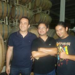 con Rafael Elizondo e Christian Sandoval (Baja California)
