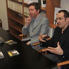 con il musicologo Marco Bizzarini